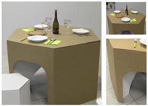 Picture of שולחן פינת אוכל משושה